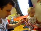 два художника- дядя и племянница