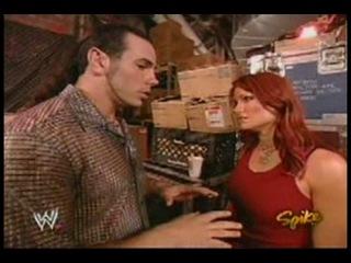Lita Matt Hardy backstage(WWE Raw 19.07.2004)