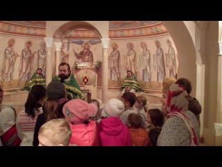 Проповедь отца Александра Сорокина в Вербное Воскресенье 8 апреля 2012 года