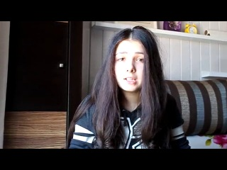 Девушка очень красиво поет песню  Катя Нова-Что такое любовь