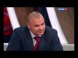 Игорь Синяк на телеканале Россия 1 в передаче