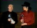 Michael Jackson & Phil Collins Billboard Awards 1992.