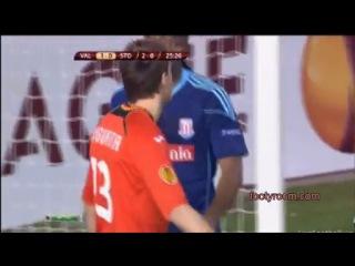Валенсия - Сток Сити 1-0