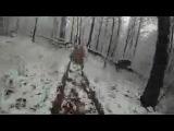 Трасса на г. Жорнына (Мукачево 2011 - зима) - 1-ый участок