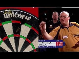 Raymond van Barneveld vs Andrew Gilding (Dutch Darts Masters 2013 / First Round)