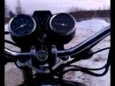до 80 км в час по зимней снежной трассе на orion 125a