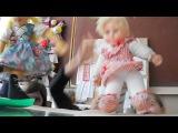 Кукольный танец, на уроке трудового учения