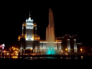 фонтан на площади тысячелетия г.Саранск