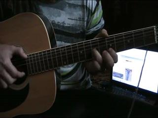 Артём Андреев. Как играть первую часть соло  Пираты Карибского моря на гитаре.