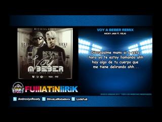 Nicky Jam Ft. Nejo El Broky - Voy A Beber (Oficial Remix) [Letra]