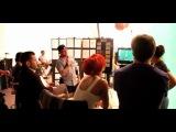 Рианна на съёмках интерактивного ролика для Nivea