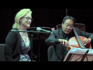 Выступление Мерил и Йо-Йо Ма на US-China Forum - A Musical Dialogue.18.11.2011