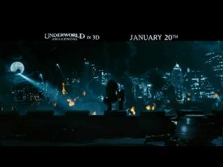 Другой мир 4: Пробуждение [ТВ-ролик2] / Underworld: Awakening (2012) [TV-Spot2] [Eng] [HD]