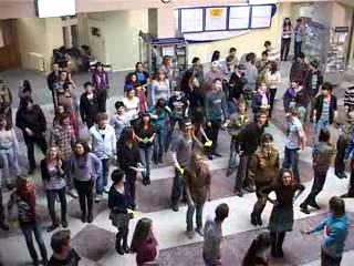 Cъемки клипа студенческого гимна АлтГУ