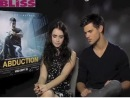 MyBliss meets Lily Collins and Taylor Lautner