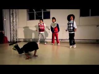 World of Dance 2011 - Future Funk - Bailrok & Baby Boogaloo with BBoy Jalen & Desmond - WOD Kids