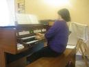 Шублеровский хорал Wachet auf, ruft uns die Stimme BWV 645 начало, фрагмент