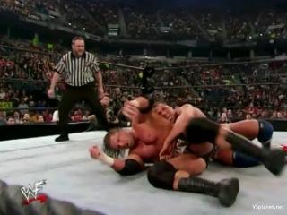 Kurt Angle vs Triple H, WWE No Way Out 2002