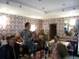 31 марта 2013 год кафе София на улице Тамбовская день рождения Игоря Шипкова Санкт-Петербург.