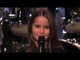 Чудный голос девочки-Шоу Америка ищет таланты
