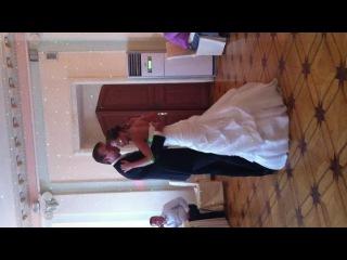 Первый свадебный танец молодоженов Оли и Саши!!!!