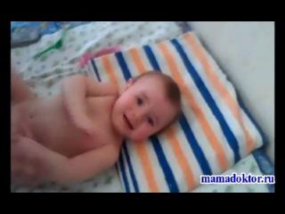 Детский массаж и гимнастика от 3 до 6 месяцев