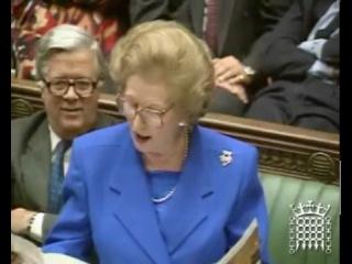 Margaret Thatcher on credit cards