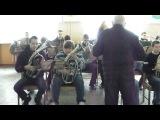 Духовой оркестр ПТУ №23 г Полтава Два дубки