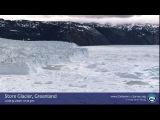 Гренландия. Как откалываются мааленькие айсберги))) 9 июня, 2007 год, время 1212 дня..