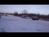 snowdrift by Toyota Corolla