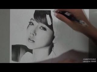 [GURUPOP Event] Soyeon - Graphite Pencil Drawing