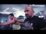 Андрей Лобанов. Тренировка плеч и бицепсов