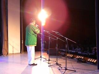 Песня Мансура на конкурсе в г Новосибирске.
