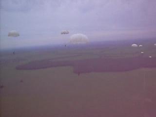 прыжок с ил 76. РВВДКУ 4 батальон