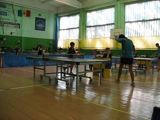 международный турнир по настольному тенису г.Бельцы (юноши 1998г. и младше)