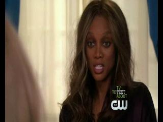 Gossip Girl|Сплетница|3 сезон|4 серия ( 2 появление Тайры Бэнкс )(англ.)