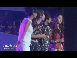 f(x) Interview for Hunan TV (111231)