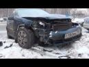 Два автомобиля не поделили перекресток на северо-востоке Москвы