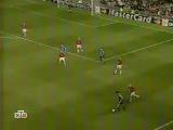 ЛЧ 2001-2002. 1/2 финала. Манчестер Юн. - Байер 2 тайм. 2:2