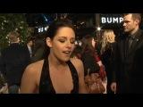 Kristen Stewart talks sex at the Breaking Dawn premiere