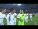 Iker Cassilas Gives captain's armband to Raul ~ Real Madrid Al Sadd ~ 22 08 2013