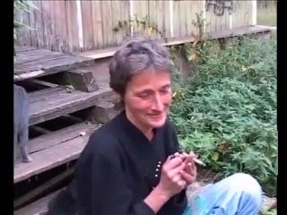 охуевшая бабка наркоманка