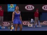 Australian Open 2012 / День 2 / Тамира Пашек (Австрия) - Серена Уильямс (США)