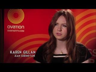 KAREN GILLAN INTERVIEW - JEAN SHRIMPTON LOVES WE'LL TAKE MANHATTAN