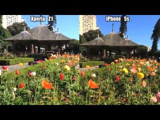 Сравнение камер Sony Xperia Z1 и Iphone 5S