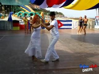 МК Son cubano. Козарь Ирина и Гринь Дмитрий