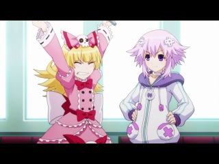 Choujigen Game Neptune The Animation | Альтернативная игра богов 2 серия