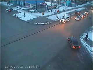 Mercedes C180 сбил пешехода в Костанае