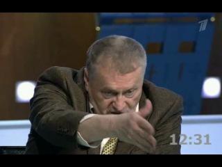 Выборы-2012 (Эфир от 07.02.2012) Жириновский- Нарочницкая (Доверенное лицо Путина)