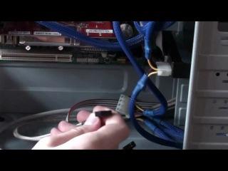 Как собрать персональный компьютер - 13 Завершение сборки, укладка кабелей
